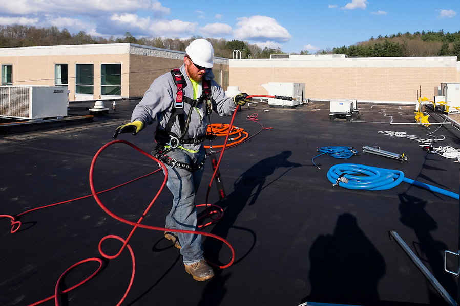 Tremco Roof Cleaning (Rick Osentoski)