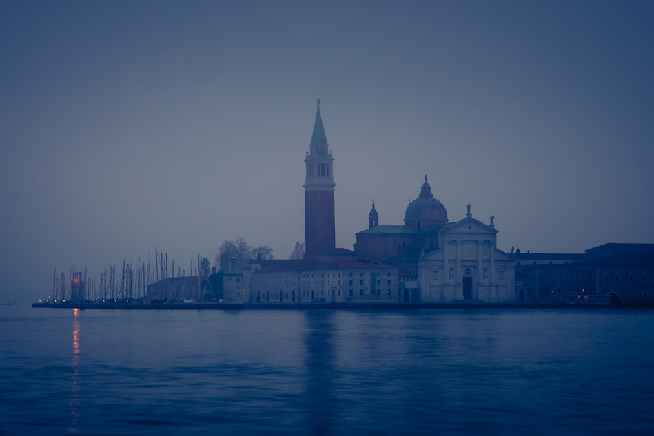 VENICE, ITALY - CIRCA MAY 2015: The Grand Canal and San Giorgio Maggiore at dawn in Venice. (Daniel Korzeniewski)