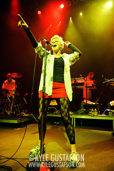 Washington, D.C. - August 2nd, 2010:  Swedish pop-songstress Robyn performs to a sold out 9:30 Club.  She is currently touring behind her latest release, Body Talk, Part 1.  (Photo by Kyle Gustafson/For The Washington Post) (Photo by Kyle Gustafson)