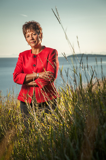 Sophie Minich, President and CEO of Cook Inlet Native Corporation, Anchorage (© Clark James Mishler)