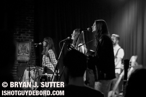 British folk rock trio The Staves played to a packed crowd at Off Broadway on May 30th, 2013 in St. Louis, Missouri. The three sisters shared harmonies and traded stories about England and their adventures in America. (Bryan J. SUtter)
