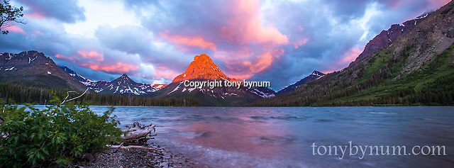 outdoor photography, glacier national park sunrise two medicine lake (Tony Bynum/tonybynum.com)