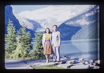 1986, Lake Louise, by Peter J Noakes.