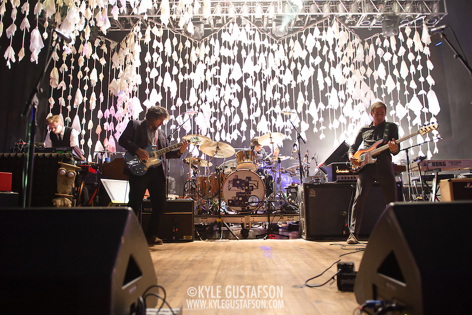 COLUMBIA, MD, -September 25th, 2011 - Wilco perform at Merriweather Post Pavilion. The band will release their eight studio album, The Whole Love, on Tuesday. (Photo by Kyle Gustafson/For The Washington Post). (Kyle Gustafson/FTWP)