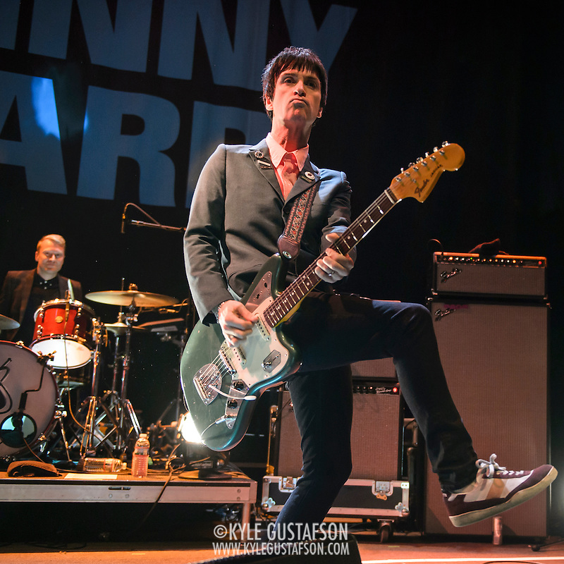 WASHINGTON, DC - November 9th, 2014 - Johnny Marr performs at the 9:30 Club during his Playland tour. (Photo by Kyle Gustafson / For the 9:30 Club) (Photo by Kyle Gustafson)