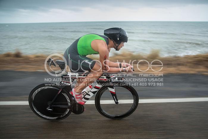 Dmity-Lee Duke (AUS), June 8, 2014 - TRIATHLON : Ironman Cairns 70.3 / Cairns Airport Adventure Festival, Palm Cove - Captain Cook Highway - Cairns Esplanade, Cairns, Queensland, Australia. Credit: Lucas Wroe (Lucas Wroe)