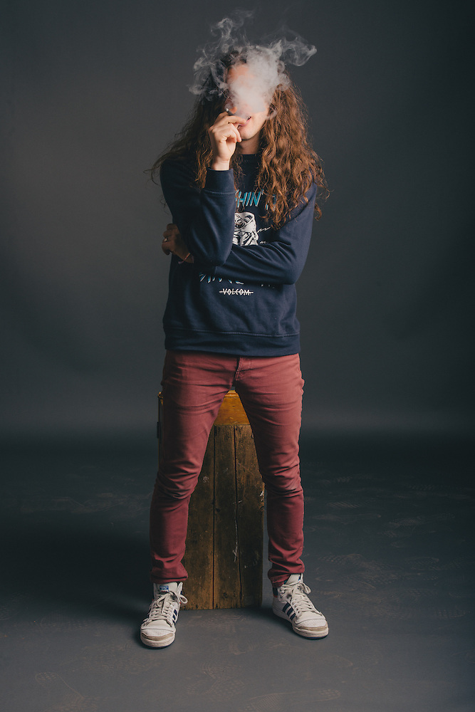 Portraits of Kurt Vile taken backstage at Atlantic Studios in Ásbrú for ATP Iceland 2014 in Keflavík, Iceland. July 10, 2014. Copyright © 2014 Matthew Eisman. All Rights Reserved (Matthew Eisman/Photo by Matthew Eisman)