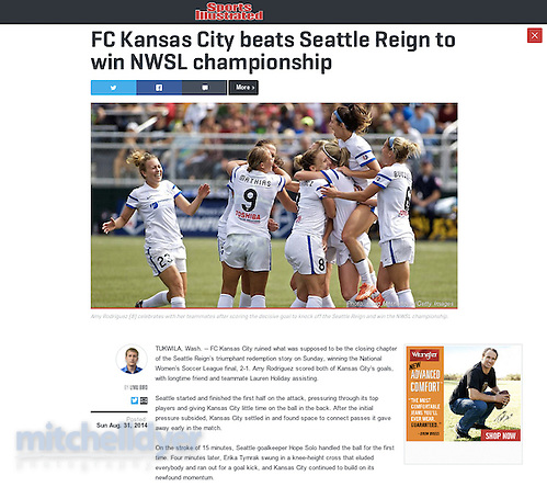 SI Clip from NWSL (Craig Mitchelldyer)