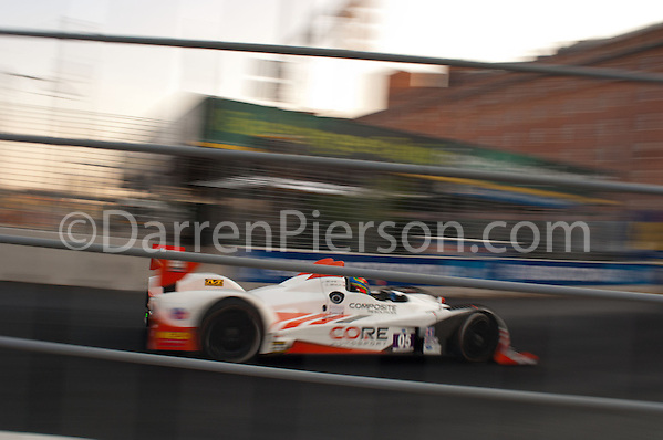 #05 CORE Autosport Oreca FLM09: Jonathan Bennett, Colin Braun (Darren Pierson)