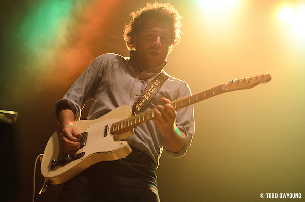 Dawes performing in support of Bright Eyes at the Pageant in St. Louis on June 6, 2011. (Todd Owyoung)