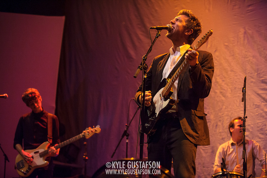 WASHINGTON, DC - September 3rd, 2014 - D.C. native Hamilton Leithauser opens for Spoon at the Lincoln Theatre. (Photo for Kyle Gustafson / WAMU) (Photo by Kyle Gustafson)