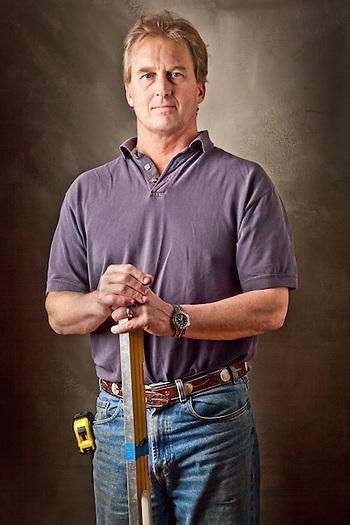 Construction contractor, Brad Himmelwright, Anchorage, Alaska (Clark James Mishler)