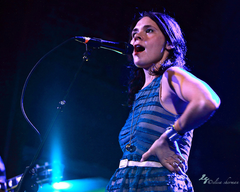 "honeyhoney perform April 29th, 2012 on the ""Billy Jack"" tour at the Neptune Theatre in Seattle, Washington (Elisa Sherman)"