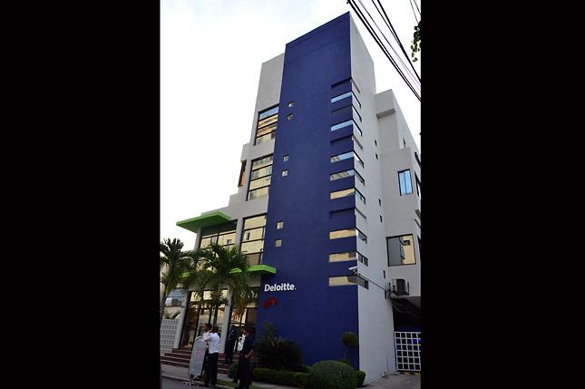 Edificio corporativo de Deloitte República Dominicana