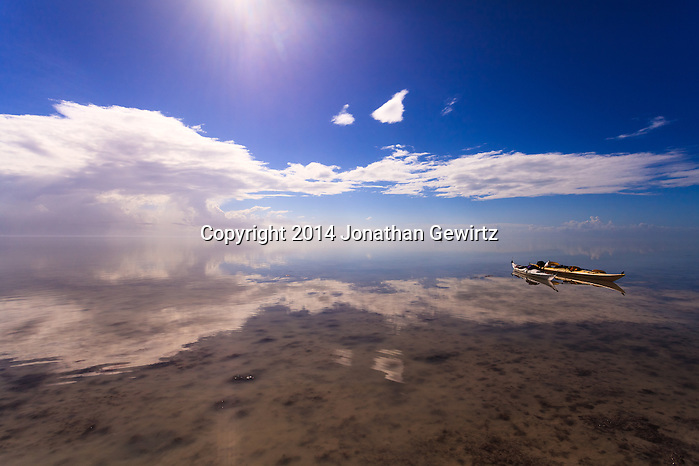 Kayakers enjoy the warm, shallow waters of Florida Bay in the southernmost part of Everglades National Park. WATERMARKS WILL NOT APPEAR ON PRINTS OR LICENSED IMAGES. (Jonathan Gewirtz   jonathan@gewirtz.net)
