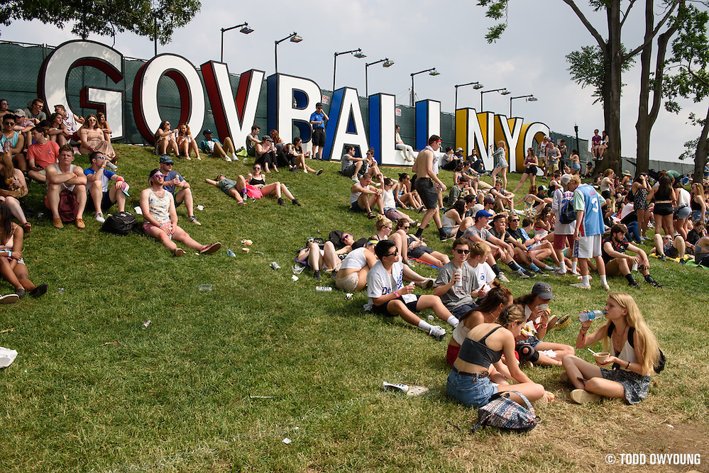 Atmosphere photographed at the Governors Ball Music Festival on Randalls Island in New York City on June 4, 2016 (Todd Owyoung)