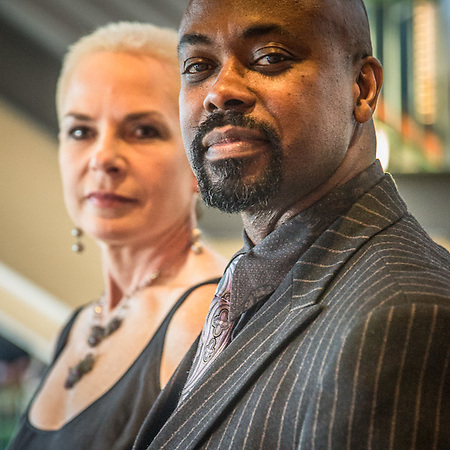 Karen and Michael King at the Anchorage Symphony Orchestra Chamgagne Pops at the PAC, Anchorage (© Clark James Mishler)