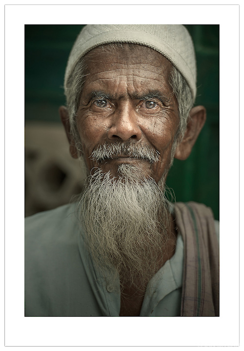Street Portrait - Old Delhi, India (Ian Mylam)