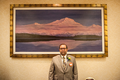 New Rotarian, Bill Ure, Anchorage East Rotary Club. (© Clark James Mishler)