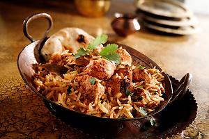 Char Griiled Chicken Byriani Indian cuisine (Paul E Williams)