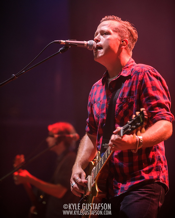 Jason Isbell performs at Merriweather Post Pavilion in Columbia, MD, opening for My Morning Jacket. (Photo by Kyle Gustafson)