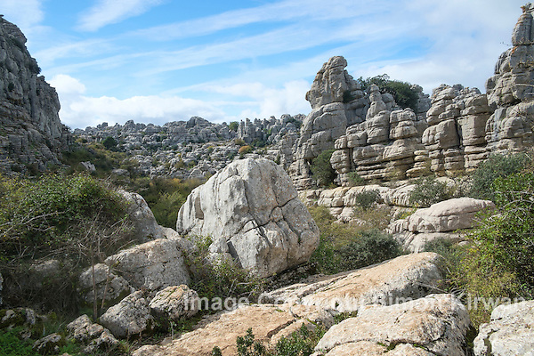 Karst Landscape, El Torcal de Antequera Natural Park - Photo By Simon Kirwan