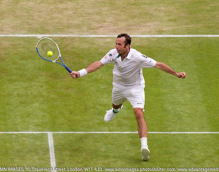 RADEK STEPANEK..Tennis - Grand Slam - The Championships Wimbledon - AELTC - The All England Club - London - Fri June 29th 2012. .© AMN Images, 30, Cleveland Street, London, W1T 4JD.Tel - +44 20 7907 6387.mfrey@advantagemedianet.com.www.amnimages.photoshelter.com.www.advantagemedianet.com.www.tennishead.net (FREY - AMN IMAGES)