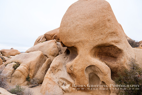 United States, California, Joshua Tree National Park. Skull Rock. (Photo Bjorn Grotting)
