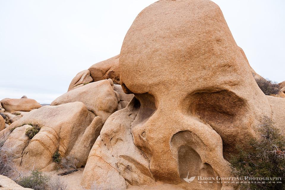 United States, California, Joshua Tree National Park. Skull Rock. (Photo Bjorn Grotting)