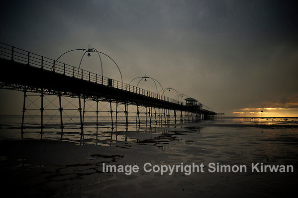 Southport Pier Grade II Listed Structure - photography by Simon Kirwan