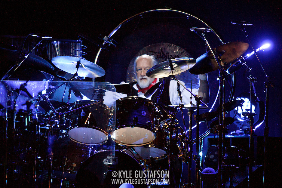 "WASHINGTON, DC - April 9th  2013 -  Mick Fleetwood of Fleetwood Mac performs at the Verizon Center in Washington, D.C. during the band's 2013 World Tour. Fleetwood Mac, touring for the first time since 2009, is including two new songs in their setlist, ""Sad Angel"" and ""Without You."" (Photo by Kyle Gustafson/For The Washington Post) (Kyle Gustafson/For The Washington Post)"