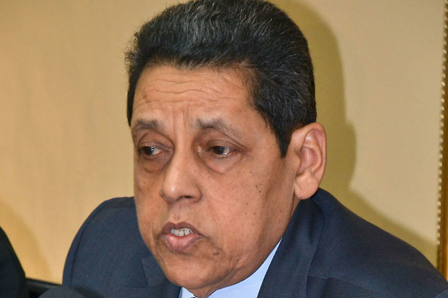 César Pina Toribio,consultor jurídico del Gobierno dominicano