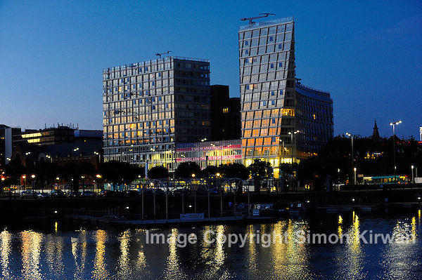 One Park West, César Pelli, Liverpool - Architectural photography by Simon Kirwan