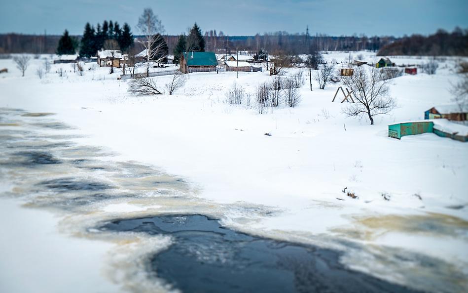 Snowed landscape in a Rural area in Russia (Daniel Korzeniewski)