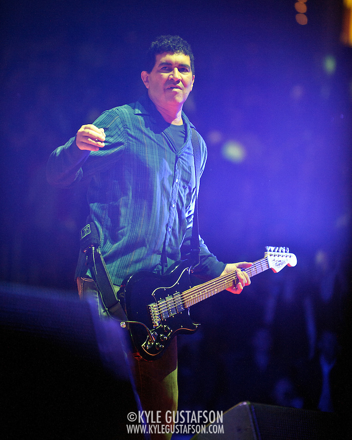 WASHINGTON, DC - November 11th, 2011 - Fomer Nirvana guitarist Pat Smear performs with the Foo Fighters at the Verizon Center in Washington, D.C. The show was the band's first area appearance behind their 2010 album Wasting Light.  (Photo by Kyle Gustafson/For The Washington Post) (Kyle Gustafson/FTWP)