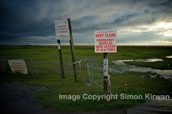 Keep Clear: Emergency Vehicles Need Access At All Times - photo by Simon Kirwan