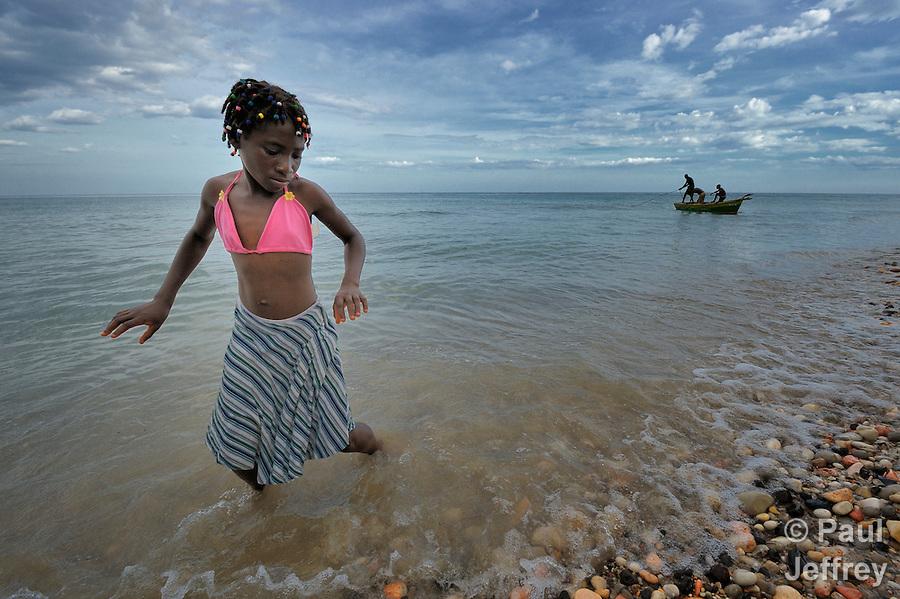 Miskenda Ridore, a member of Nouvel Etwal - Haitian Kreyol for
