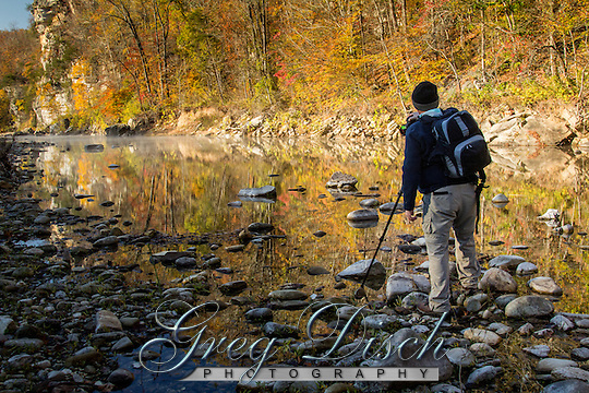 Fall on the Buffalo National River at the Steel Creek Campground. (Greg Disch)