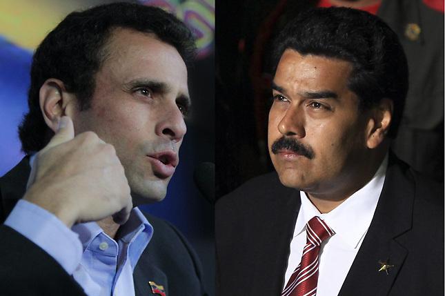 Iniciar campaña en tierra de Chávez, deseo compartido de Maduro y Capriles