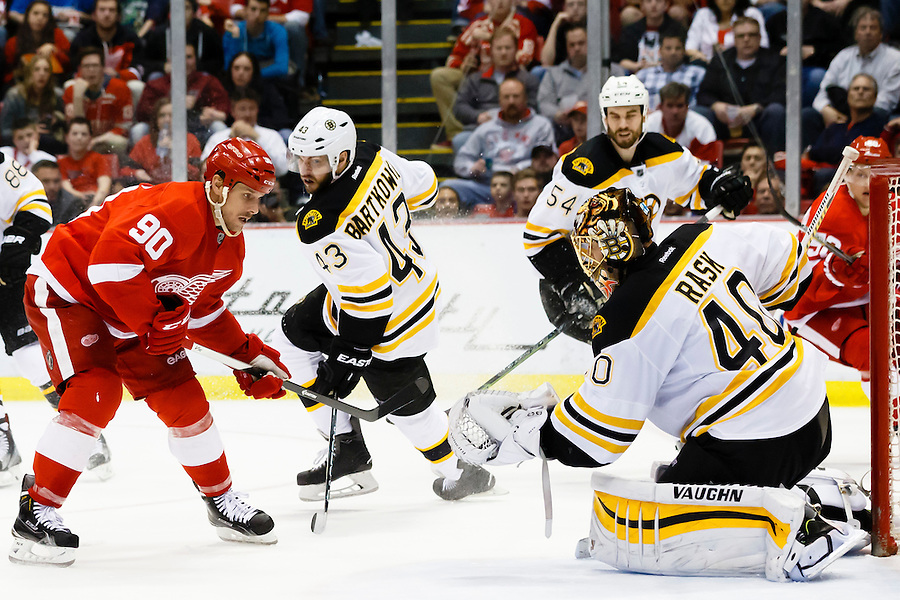Apr 2, 2015; Detroit, MI, USA; at Joe Louis Arena. Mandatory Credit: Rick Osentoski-USA TODAY Sports (Rick Osentoski/Rick Osentoski-USA TODAY Sports)