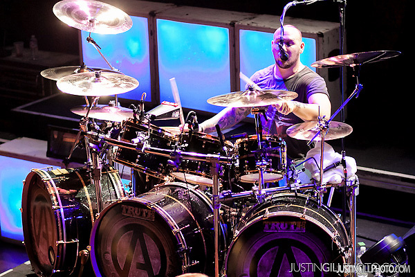 Atreyu Concert House Of Blues Chicago Brandon Saller Drums