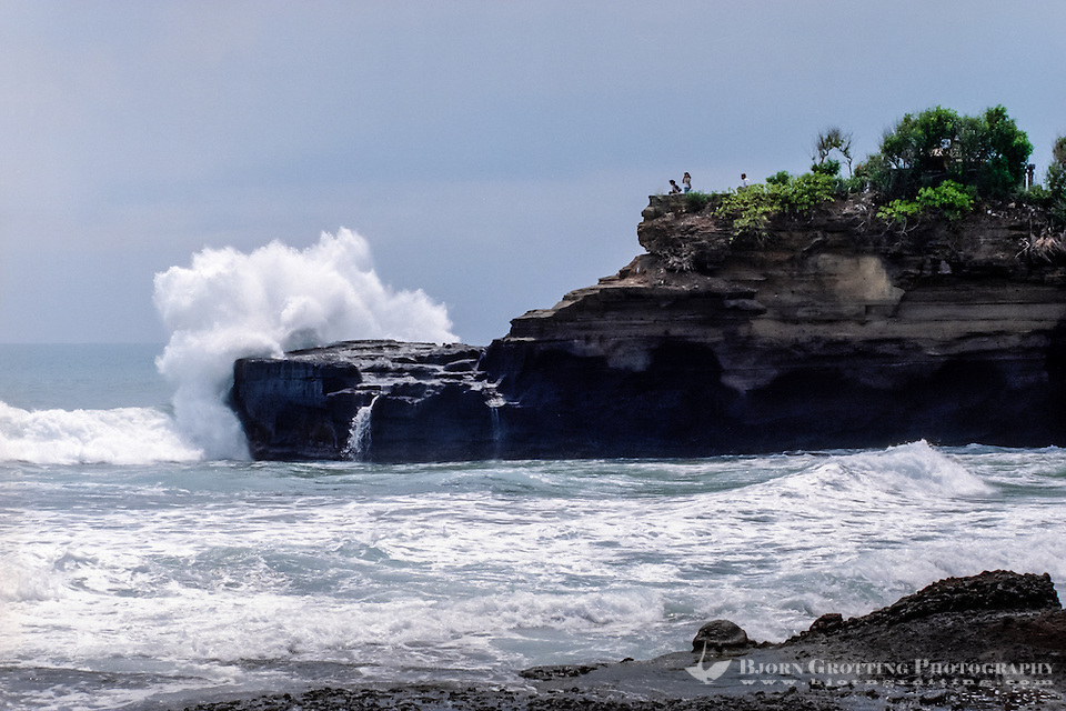 Bali, Tabanan, Tanah Lot. Tanah Lot means Land Sea. Another cliff close to the temple. (Photo Bjorn Grotting)