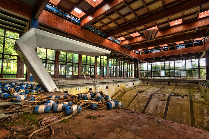 Grossinger's Abandoned Resort Liberty NY Catskills New York. (Walter Arnold)