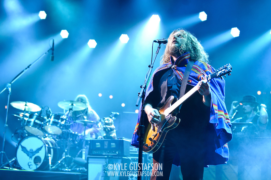 My Morning Jacket performs at Merriweather Post Pavilion in Columbia, MD. (Photo by Kyle Gustafson/www.kylegustafson.com) (Kyle Gustafson/Photo by Kyle Gustafson)