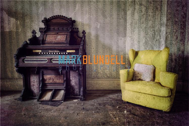 Mason and Hamlyn organ at the Bessingham Hall (Mark Blundell)