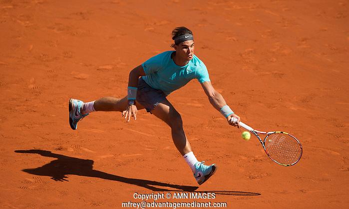 RAFAEL NADAL (ESP) Tennis - French Open 2014 -  Toland Garros - Paris -  ATP-WTA - ITF - 2014  - France  6th June 2014.  © AMN IMAGES (FREY/FREY- AMN Images)