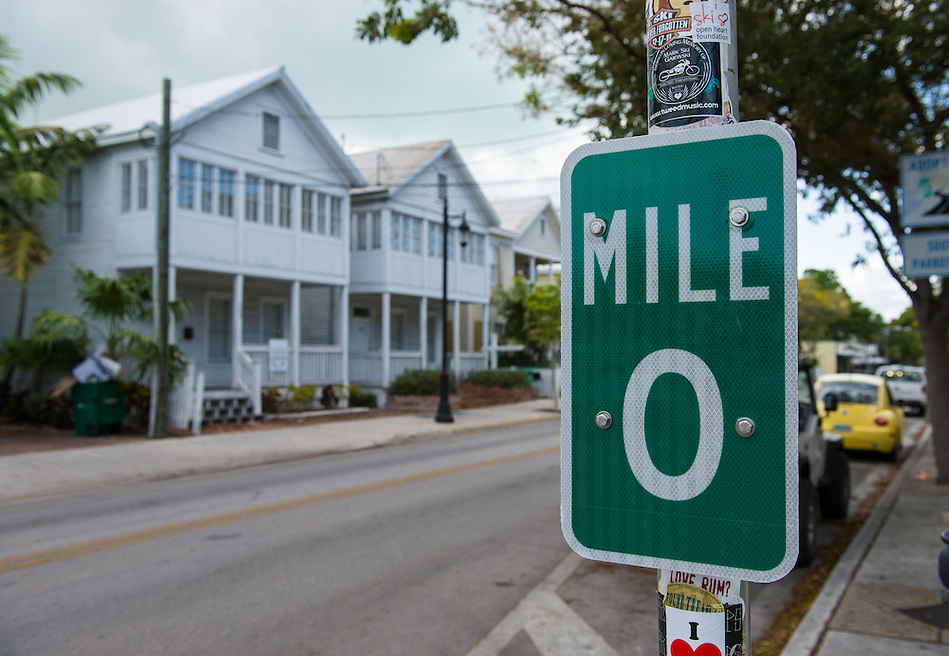 Mile Marker 0 in Key West US1