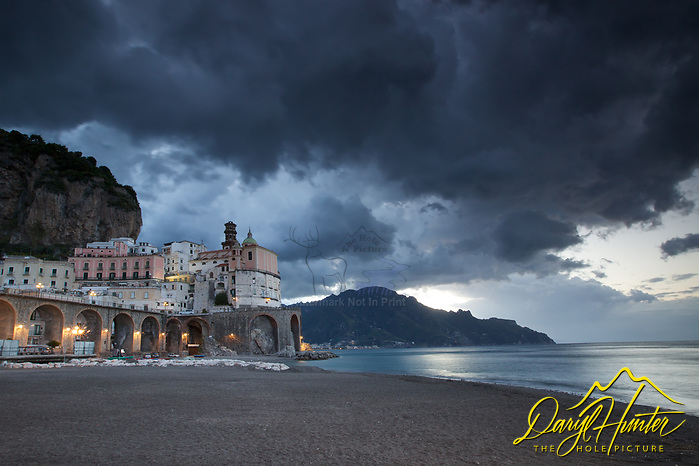 "Stormy Sky, Atrani, Italy (© Daryl Hunter's ""The Hole Picture""/Daryl L. Hunter)"