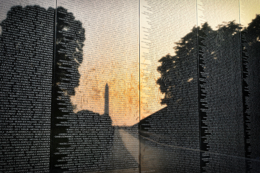 Vietnam War Memorial in the National Mall; Washington, D.C. (Doug Oglesby)