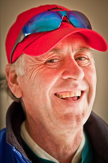 Serveyor and long time Alaskan, Tom Reber (Clark James Mishler)
